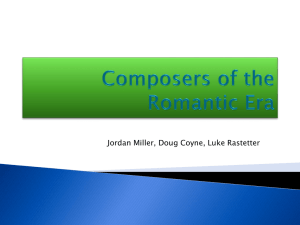 Composers of the Romantic Era