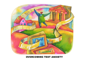 Overcoming Test Anxiety PowerPoint - Linn