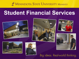 SFS First Year Students-Financial Aid, Bills and Payment, Important