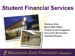 PPT - Minnesota State University, Mankato