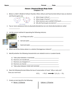 Bonding Basics Review
