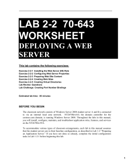 nt2670 email and web services lab Nt2670 email and web services project pdfpdf nt2670 email and web services project pdf nt2670 email and web services project pdf author: annett baier.