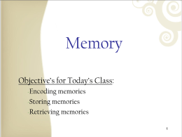 Lecture9-Memory