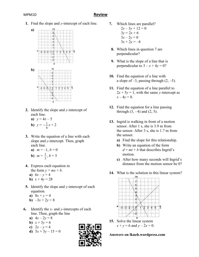 Lesson 9 – Review Worksheet - lkueh