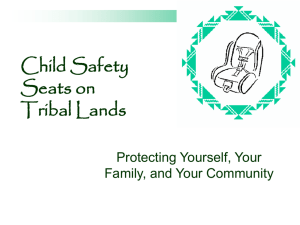 Child Safety Seats Powerpoint Presentation