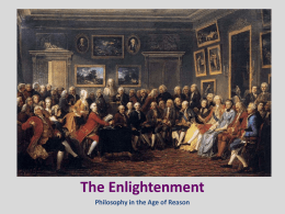 the contribution of the enlightenment to Franklin's contributions to enlightenment thought far transcended the boundaries of his own country: his reputation as a scientist and as a philosopher was, deservedly, an international one.