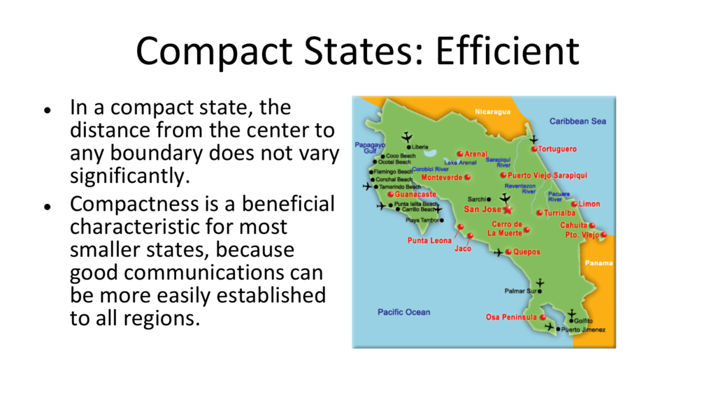 Compact Compact States Efficient States