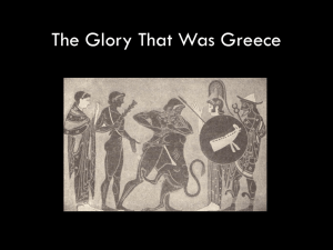 Greece's early history for students