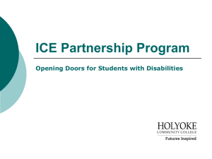 ICE Partnership Program