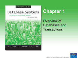 On-line Transaction Processing