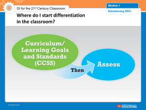 DI Assessment Component Slides