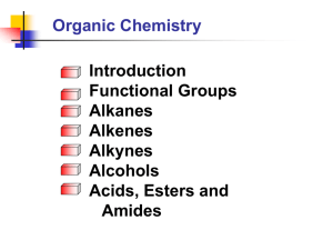 Introduction to Organic Chemistry Notes
