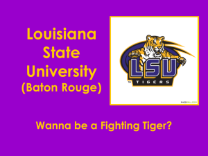 Louisiana State University - stroh