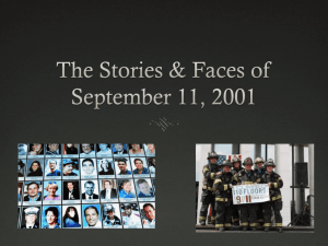 September 11th Faces and Voices