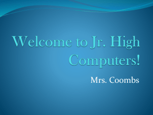 File - Mrs. Coombs' Computer and Library Classes