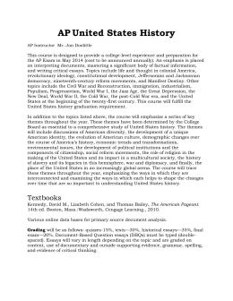 1993 apush dbq essays Dbq apush essay by amymerino, high school, 11th grade, b+, november 2014 dbq one of the main debates during the early settlement of america was if slaves should be allowed.