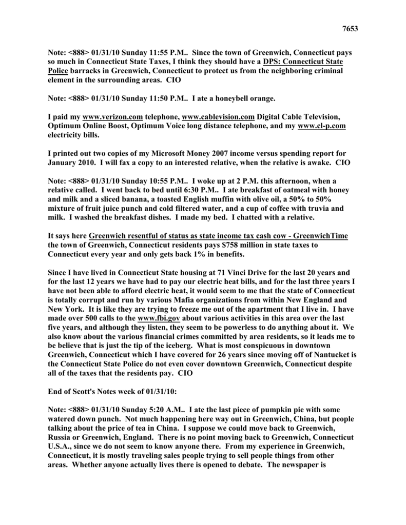 """mlsnote18"""" pages 7653 - Michael Louis Scott Web Site and"""
