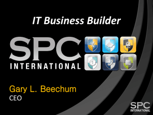 The IT Business Builder - Ingram Micro Microsites