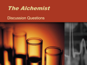 The Alchemist Discussion Questions