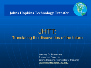 Johns Hopkins Technology Transfer