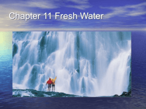 Chapter 11 Fresh Water