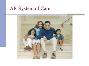AR System of Care - Coordinated School Health