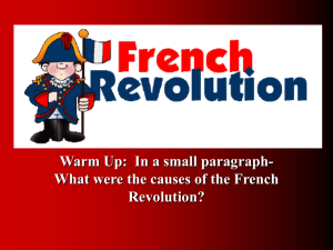 3 Phases of the French Revolution