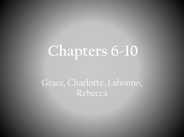Chapters 6-10