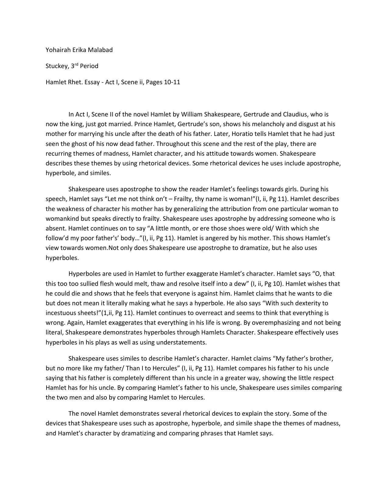 Do my popular rhetorical analysis essay on shakespeare sample essay question for soc 100