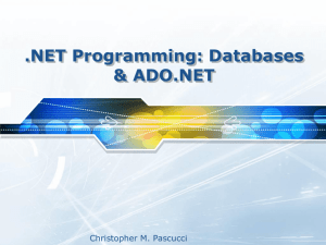 Basic Structural Concepts of .NET