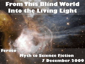 Cantos XVIII-XXXI: From This Blind World Into the Living Light