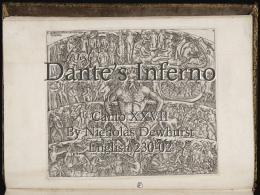 dantes inferno study guide Background of the divine comedy: inferno  virgil's aeneid was one of the models for dante's inferno  we follow the guide and dante through adventures so .