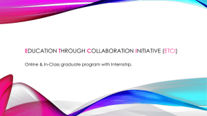 Education through Collaboration Initiative