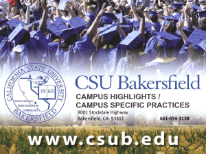 Bakersfield - The California State University