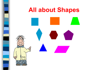 Shapes - Hamilton Local Schools