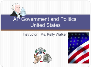 AP Government and Politics: United States - kewa