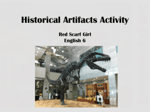 Day 1 RSG Historical Artifacts - bbmsjanthony