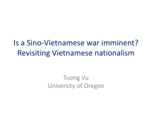 Politics of Nationalism in Vietnam