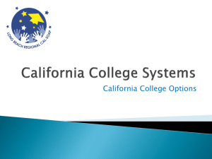 California College Options