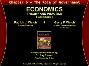 Welch & Welch - Economics: Theory and Practice