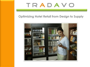 Optimizing Hotel Retail from Design to Supply