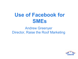 Facebook for SMEs