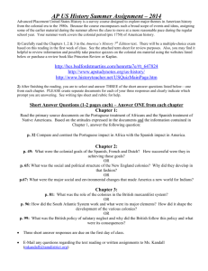 AP US History Summer Assignment – 2014