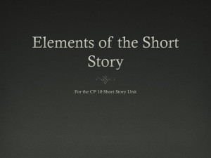 Intro to Short Stories PPT