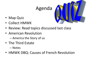 Lesson 2 - World History and Geography