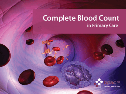 Complete blood count in primary care