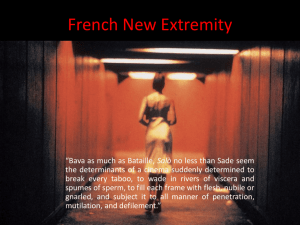 French New Extremity