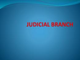 Judicial Branch - Baltimore City Public School System