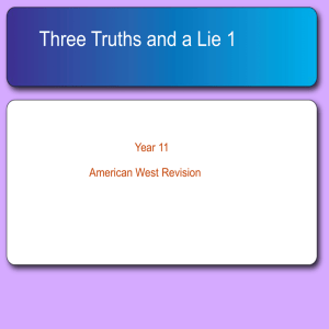 Three Truths 1