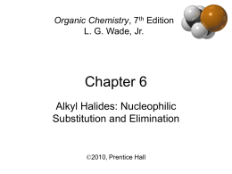 lab report e2 substitution alkyl halides Mechanisms of nucleophilic substitution reactions  times slower, whereas  authentic sn2 reactions clearly show a large rate increase for 1º-alkyl halides.
